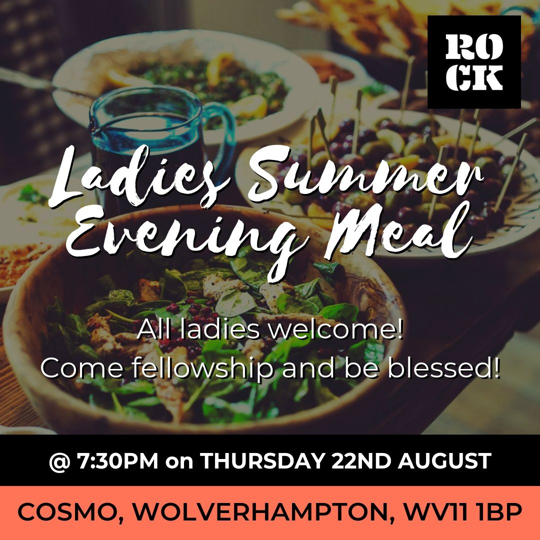 LADIES SUMMER EVENING MEAL 1