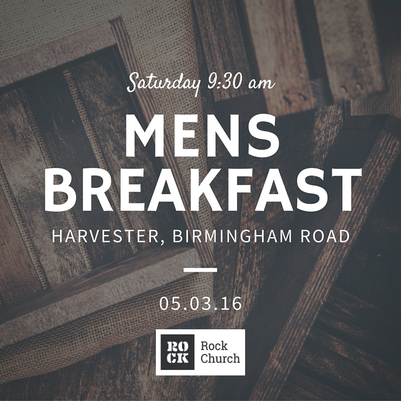 mens breakfast mar16 rock church walsall birmingham uk